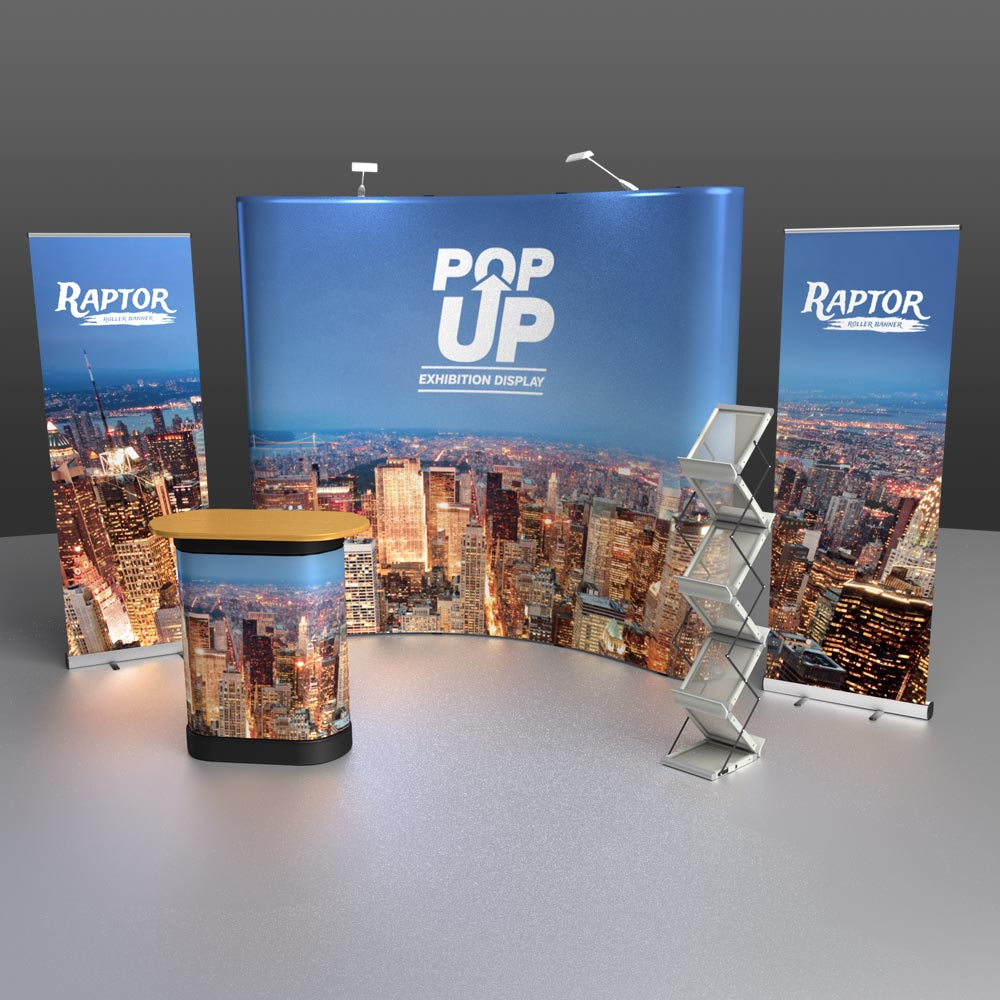 Exhibition Displays : Exhibition display stands