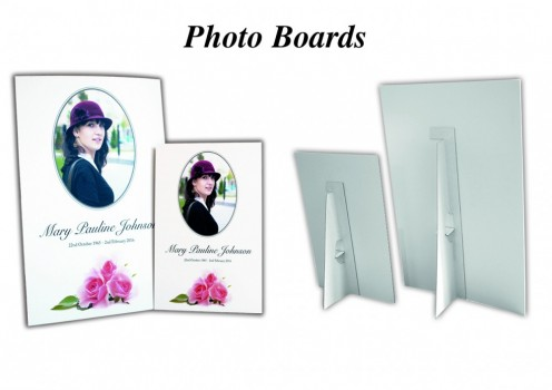 Funeral Photo boards